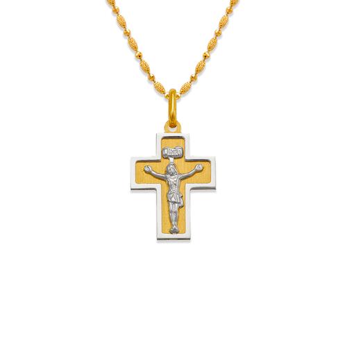 161-606C Satin Cross Pendant