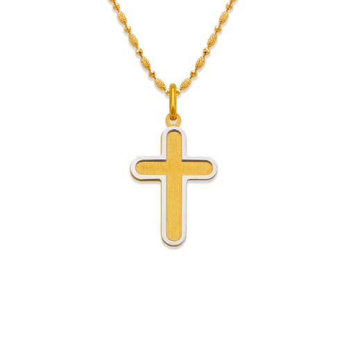 161-607 Satin Cross Pendant