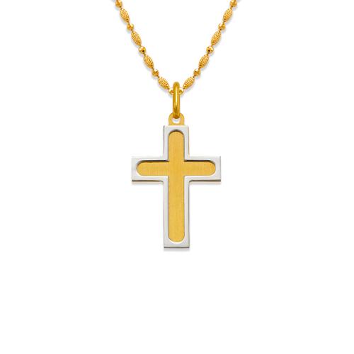 161-608 Satin Cross Pendant