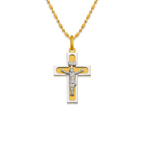 161-608C Satin Cross Pendant