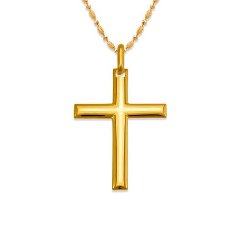 161-624 High Polished Cross Pendant