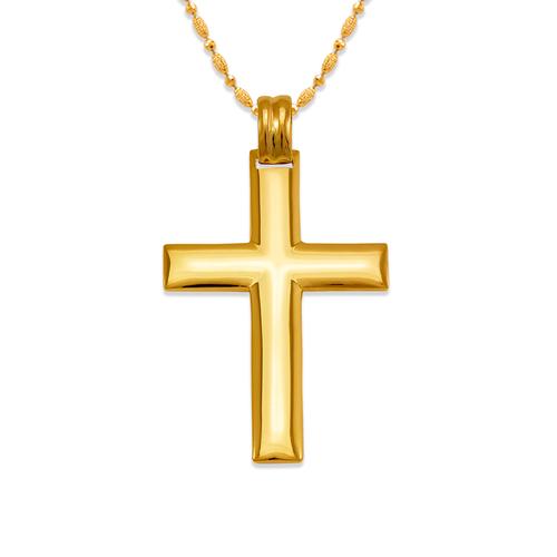 161-625 High Polished Cross Pendant