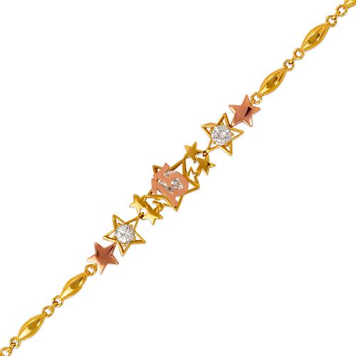 483-042 15 Anos Star CZ Bracelet