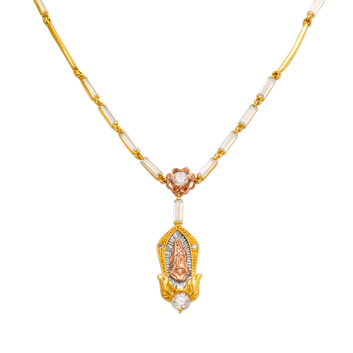 483-017 Fancy Guadalupe CZ Necklace