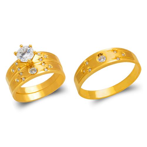 473-601S Wedding Trio Ring Set