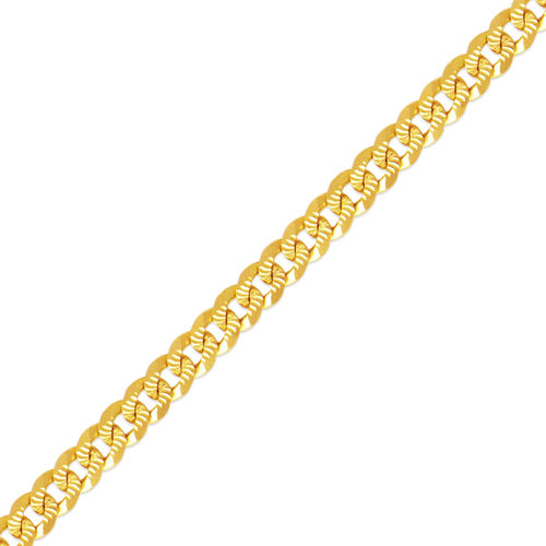 132-102FS Florentine Curb Light Chain