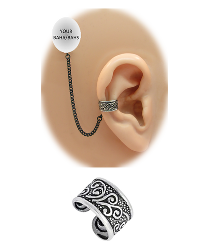 """Celtic"" Ear Cuff - Sterling Silver"