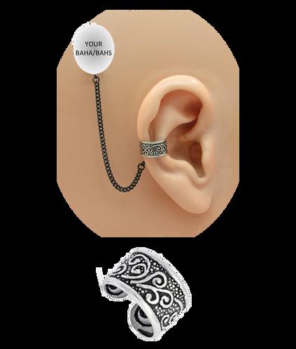 """""""Celtic"""" Ear Cuff - Sterling Silver"""