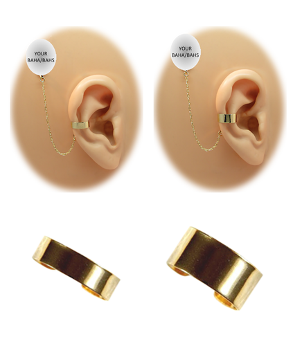 """""""Solid Band"""" Ear Cuff - Gold Fill"""