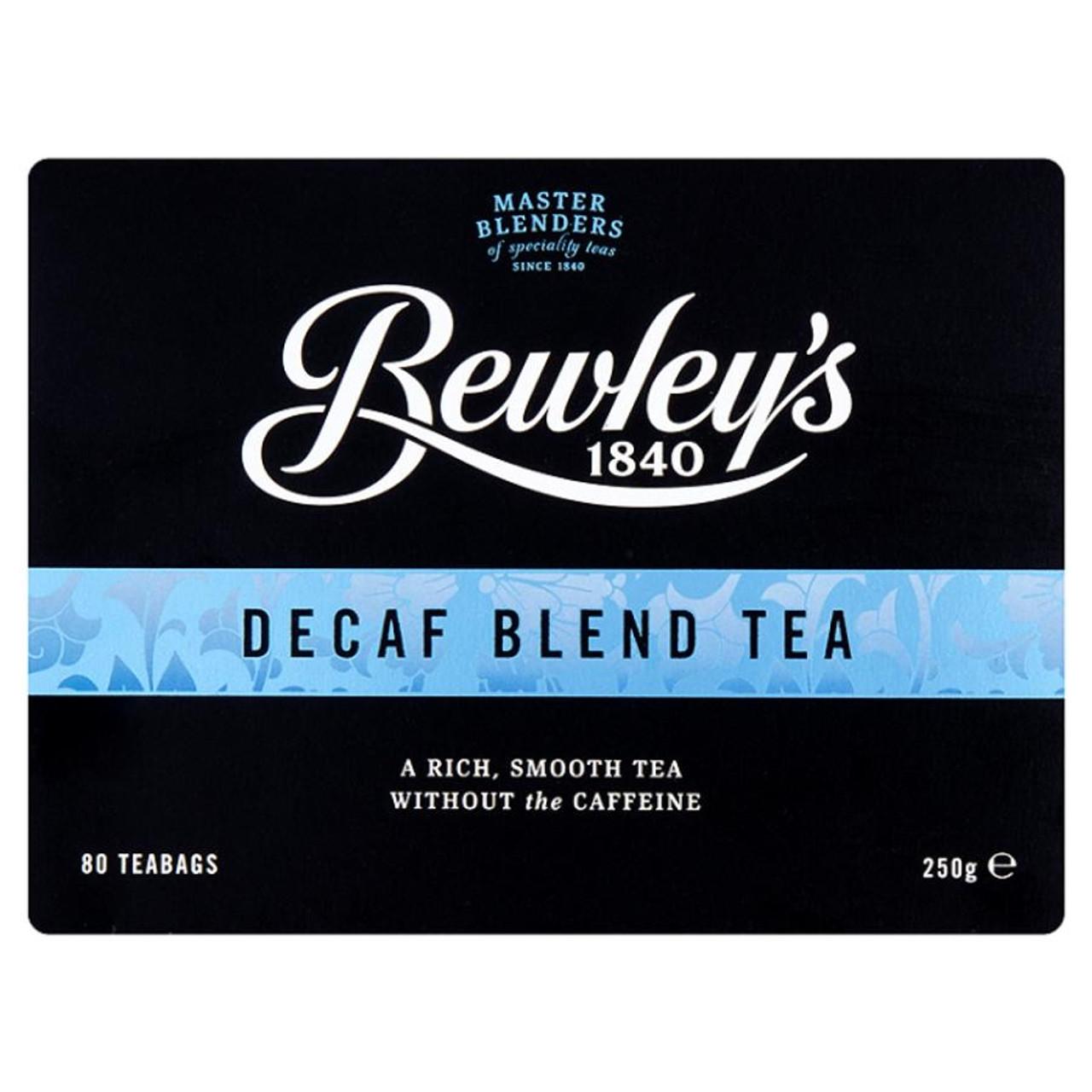 Best Decaf Coffee 2020 Bewley's Decaf Blend 80 Tea Bags (Best By Sep 2020)   teadog.com