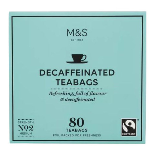 Marks & Spencer Decaffeinated Tea Bags
