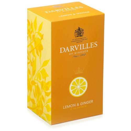 Darvilles of Windsor Lemon & Ginger Tea Bags