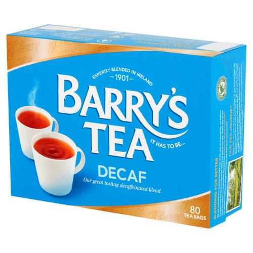 Barrys Decaffeinated Tea Bags