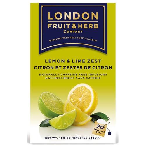 London Fruit & Herb Lemon Lime Zest Tea Bags