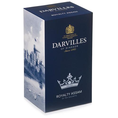 Darvilles of Windsor Royalty Assam Tea Bags