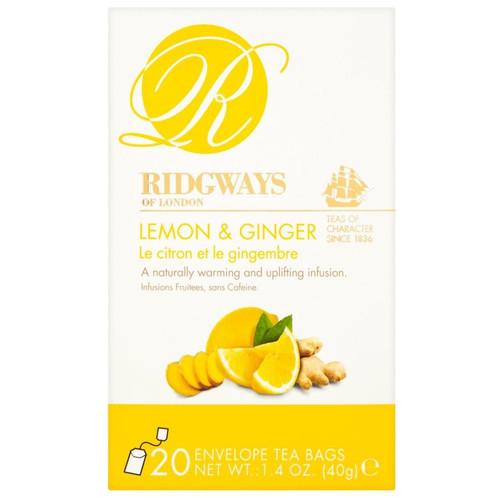 Ridgways Lemon & Ginger Tea Bags