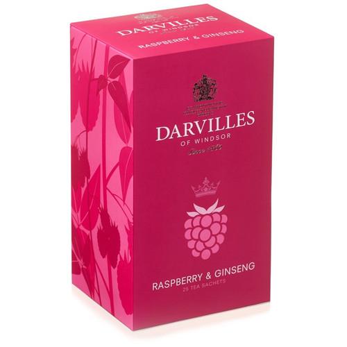 Darvilles of Windsor Raspberry & Ginseng Tea Bags