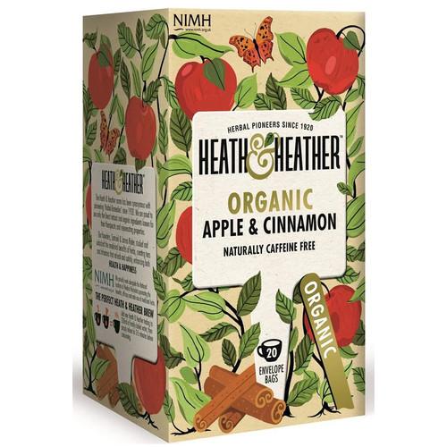 Heath & Heather Apple Cinnamon Tea Bags