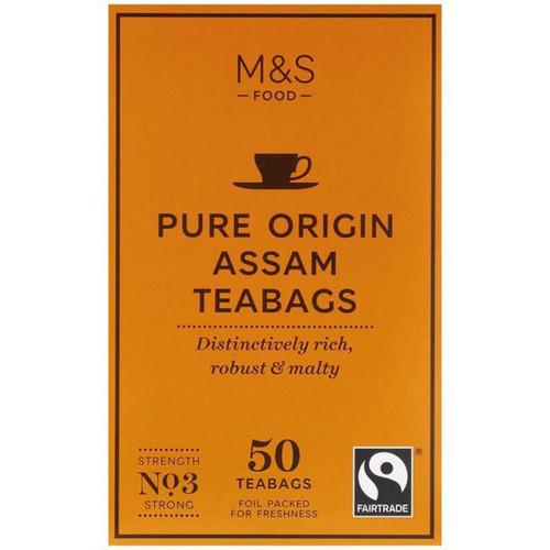 Marks & Spencer Assam Tea Bags