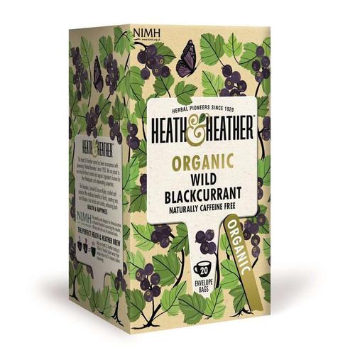 Heath & Heather Wild Blackcurrant Tea Bags