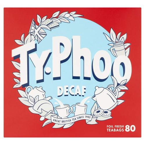 Typhoo Decaffeinated Tea Bags