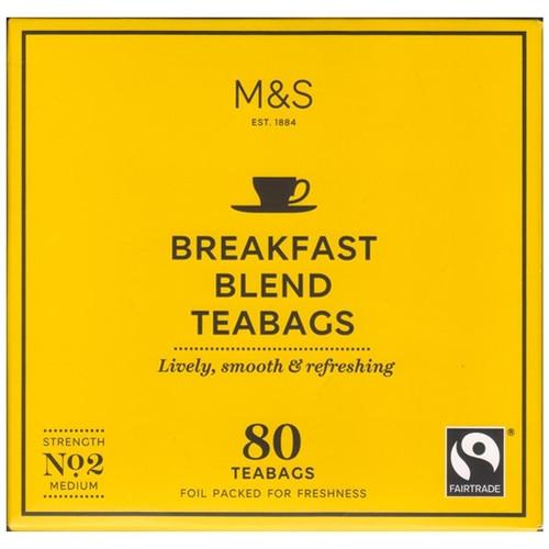 Marks & Spencer Breakfast Blend Tea Bags