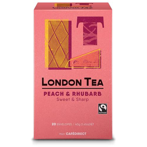 London Tea Company Peach & Rhubard Tea
