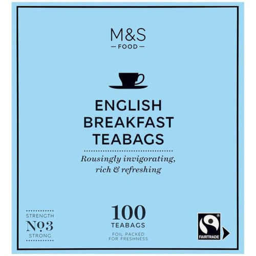 Marks & Spencer English Breakfast Tea Bags
