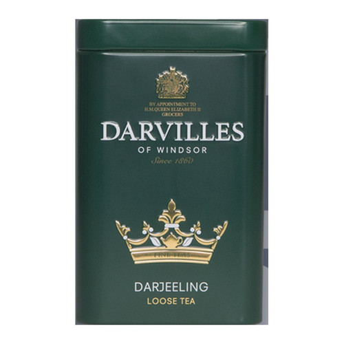 Darvilles of Windsor Darjeeling Loose Tea in Caddy