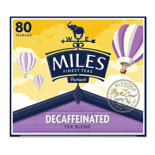 Miles Decaffeinated Tea Bags