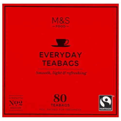 Marks & Spencer Everyday Tea Bags