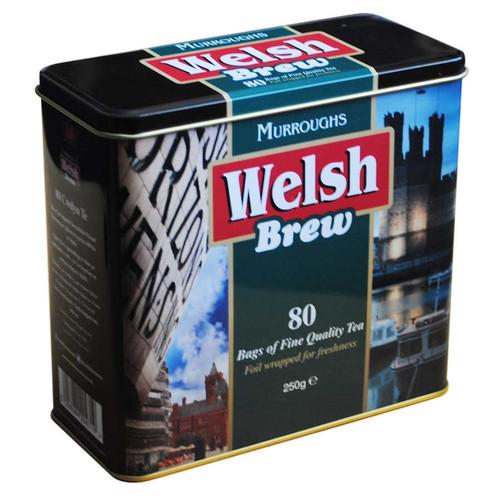 Welsh Brew Tea Bags in Caddy