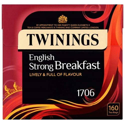 Twinings English Strong Breakfast Tea Bags