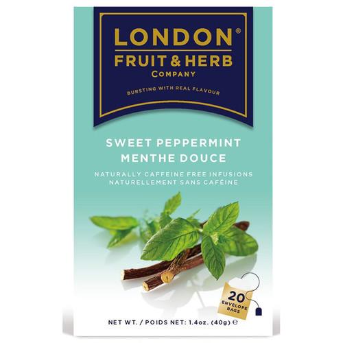 London Fruit & Herb Sweet Peppermint Tea Bags