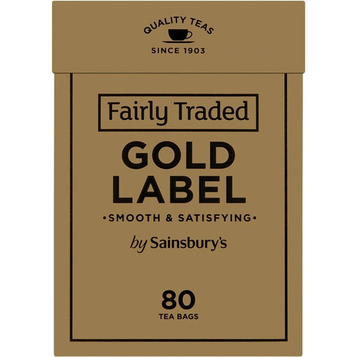 Sainsbury's Gold Label Tea Bags