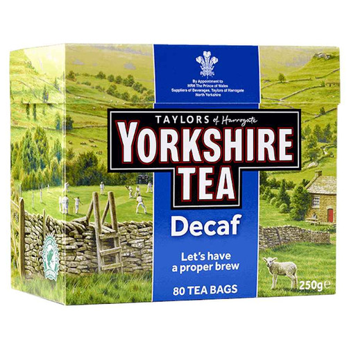 Taylors Yorkshire Decaffeinated Tea Bags