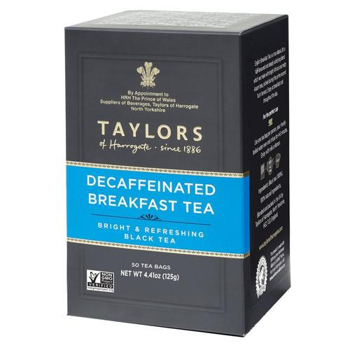 Taylors Decaffeinated Breakfast Tea Bags