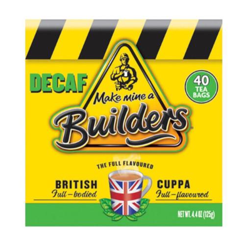Builders Decaf 40 Tea Bags (Best By Feb 2023)