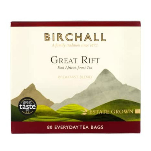 Birchall Great Rift Breakfast Blend Tea Bags