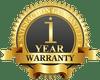 1 Year Limited Manufacturer Warranty