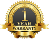 1 Year Limited Manufacturer Warranty
