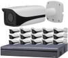 16-Camera 4K Indoor/Outdoor Motorized Bullet IP Security Camera System