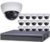 16-Camera 4K Indoor/Outdoor Dome IP Security Camera System