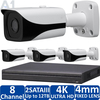 4-Camera 4K Indoor/Outdoor IP Security Camera System