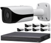 8-Camera 4K Indoor/Outdoor Bullet IP Security Camera System