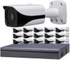 16-Camera 4K Indoor/Outdoor Bullet IP Security Camera System