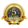 5-Year Limited Manufacturer Warranty