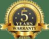 5 Years Manufacturer Warranty