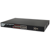LTS POE-SW1602 16-Ports 100Mbps Unmanaged PoE Switch