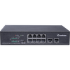 Geovision GV-APOE0810 10-Port 10/100/1000M Unmanaged PoE Switch with 8-Port PoE